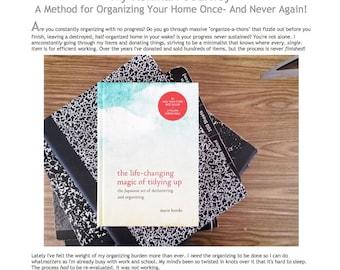 Kon Mari Method FAQ, Tips, and Inspiration Guide: My Kon Mari Home Organization Journey