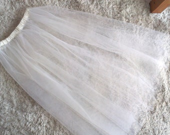 Ballet long skirt - long tutu, ballet wear, tulle skirt, romantic skirt, romantic tutu