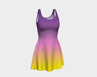 Sunset Ombre Dress