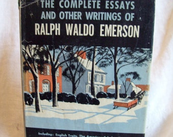 complete emerson essay other ralph waldo writings