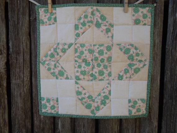 Quilted Trivet Vintage