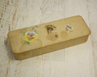 edwardian box | vintage 1900s box