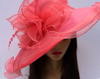 Easter Hat, Kentucky Derby Hat, Church hat, Tea Party Hat, Formal Hat, Easter Hat, Church Hat, Derby Hat, Wedding Hat, Funeral Hat