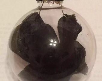 Black Rose Ornament