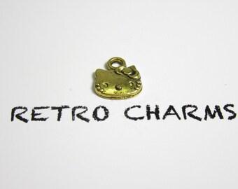 Gold Hello Kitty Retro Charm