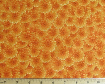 Danscapes Orange Flowers Fabric From RJR