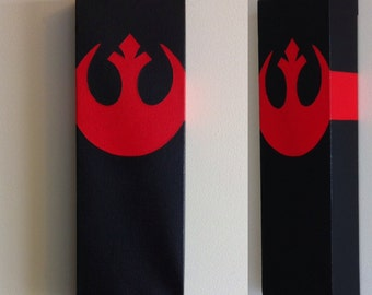 Star Wars Rebel Alliance Canvas Painting