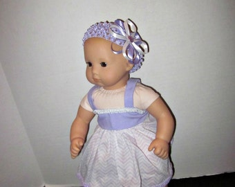 Ready To Ship;15 Inch Doll Clothes;Baby Doll Dress;Itty Bitty Baby Clothes;Baby Doll Clothes;Custom Doll Clothes;Clearance Items