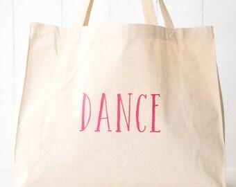 Canvas Tote Bag: Dance
