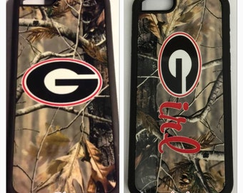 Camouflage Georgia bulldogs iPhone 6 6s 5 5s 5c 4 4s 6 plus 6s plus case UGA camo iPhone case university of georgia camouflage iPhone case G