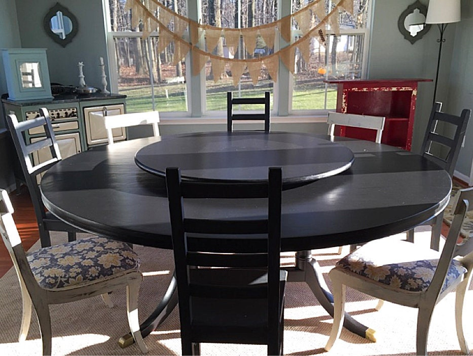 Large Lazy Susan For Large Dining Table 64 72 84 96