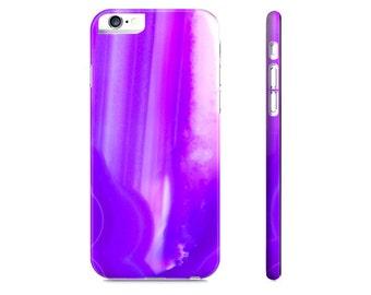 Purple Geode iPhone 6 Case - iPhone 5 Case - Samsung Galaxy S5 Case - Purple Agate Print iPhone Case - iPhone Case - The Mad Case