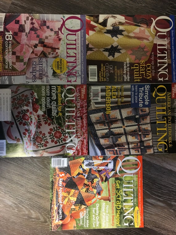 5 American Patchwork And Quilting Magazines Better Homes And