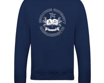 MISKATONIC UNIVERSITY- Lovecraft Inspired Sweatshirt From FatCuckoo - SW1060