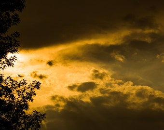 a yellow sky  on 30 x 20 canvas high definition wall art