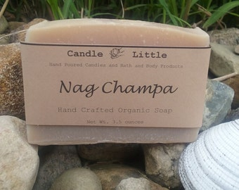 Handmade Artisan Organic Soap - Nag Champa