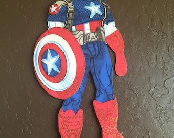 Captain america foam character