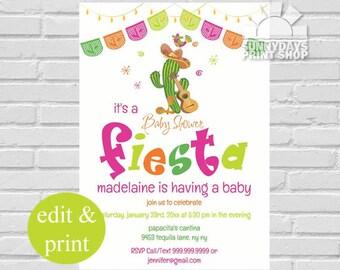 fiesta baby shower invitation baby shower fiesta invitation fiesta baby shower invite