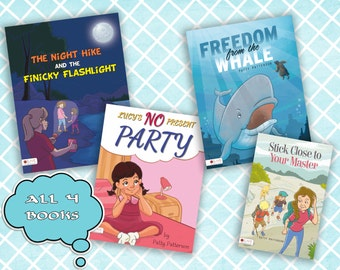 All 4 Christian Children's Books by Patty Patterson