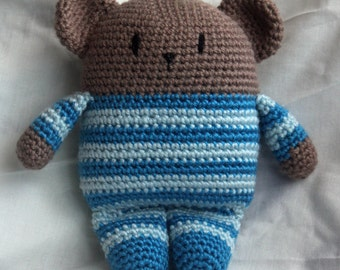 custom crochet teddy