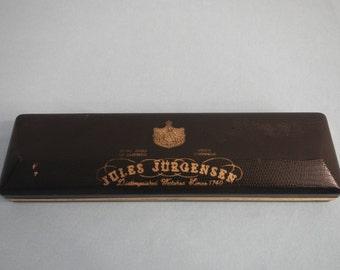 Jules Jurgensen Watch Box, Antique