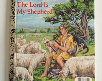 1986 Little Golden The Lord is My Shepherd Child's Story Book