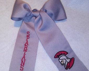 Saraland Spartans Hair Ribbon