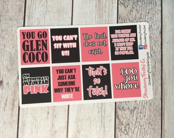 Mean Girls Inspired Quote Boxes-