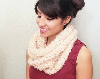 Double wrapped infinity scarf
