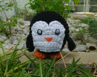 Penguin - FINISHED Crochet Figure