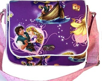 Tangled Rapunzel Kid's Messenger Bag Book Bag Toy Bag Cute Unique Gift ON SALE!!!