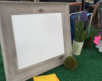Brown Dry Erase Board Frame
