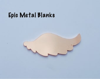 Small Copper Angel Wing Stamping Blank,Copper,Jewellery Blanks,Wings, Jewelry Blanks, Stamping Blanks, Stamped Metal Blanks, Metal Stamping.