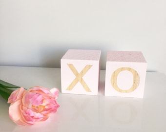 XO Blocks - set of 2