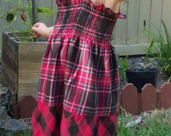 Girls dress - Toddler dress - Size 2 - 3 - Retro dress - girls clothing - Kids dress - toddler dresses - everday dress - Girls dresses - ***