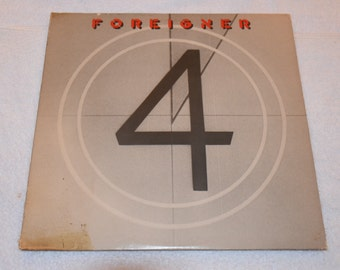 Foreigner 4 LP Album Record Vinyl