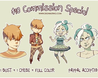 10 Dollar Anime Commission Special