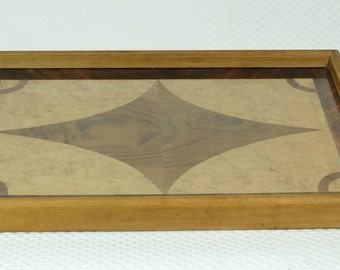 Art Deco TRAY marquetry from different wood 20s 30s
