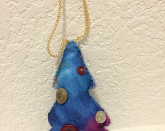 Lavender and Patchouli Scented Tree Ornament
