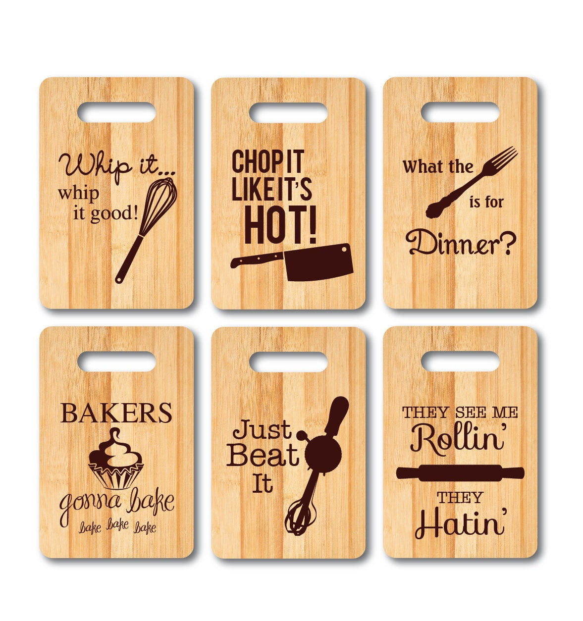 Funny Music Pun Kitchen Utensil Cutting Boards Personalized
