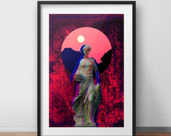Vaporwave Aesthetic Print #3 (See item description)