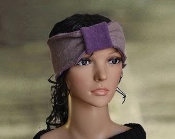 Winter headbands, Turban  headbands, Women wool  headband, Headband embellished, Felted headband Wool warm headband Winter warm headband