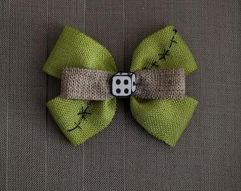 Disney Inspired Oogie Boogie Hair Bow