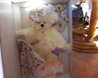 Annette Funicello Dream Keeper Bear & Friend - Limited Edition - QVC Exclusive - New in Box