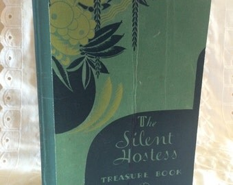 Vintage 1932 General Electric 'The Silent Hostess Treasure Book'