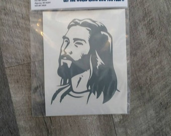 Window Decal: Jesus