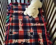 Patriots Blanket New England Patriots Fleece Blanket NFL Blanket Football Fleece Baby Blanket Sports Blanket Throw Blanket Patriots Baby