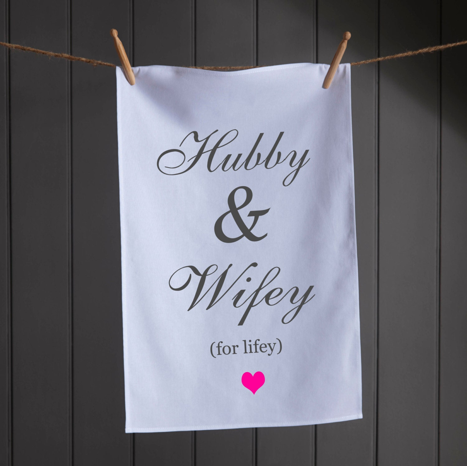 Cotton Wedding Gift: Cotton Anniversary Gift Wedding Gift Wedding Dish Towel