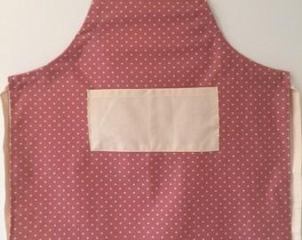 Adjustable adult apron