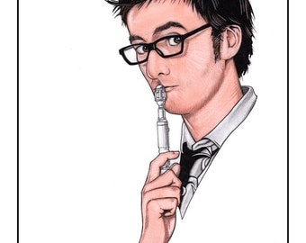 Doctor Who - The 10th Doctor Drawing